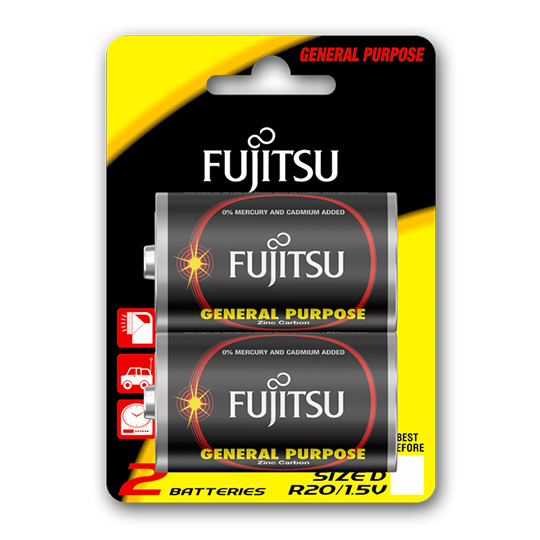 Fujitsu Zinc General 2xD R20(2B)