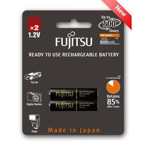 fujitsu rechargeable battery aaa