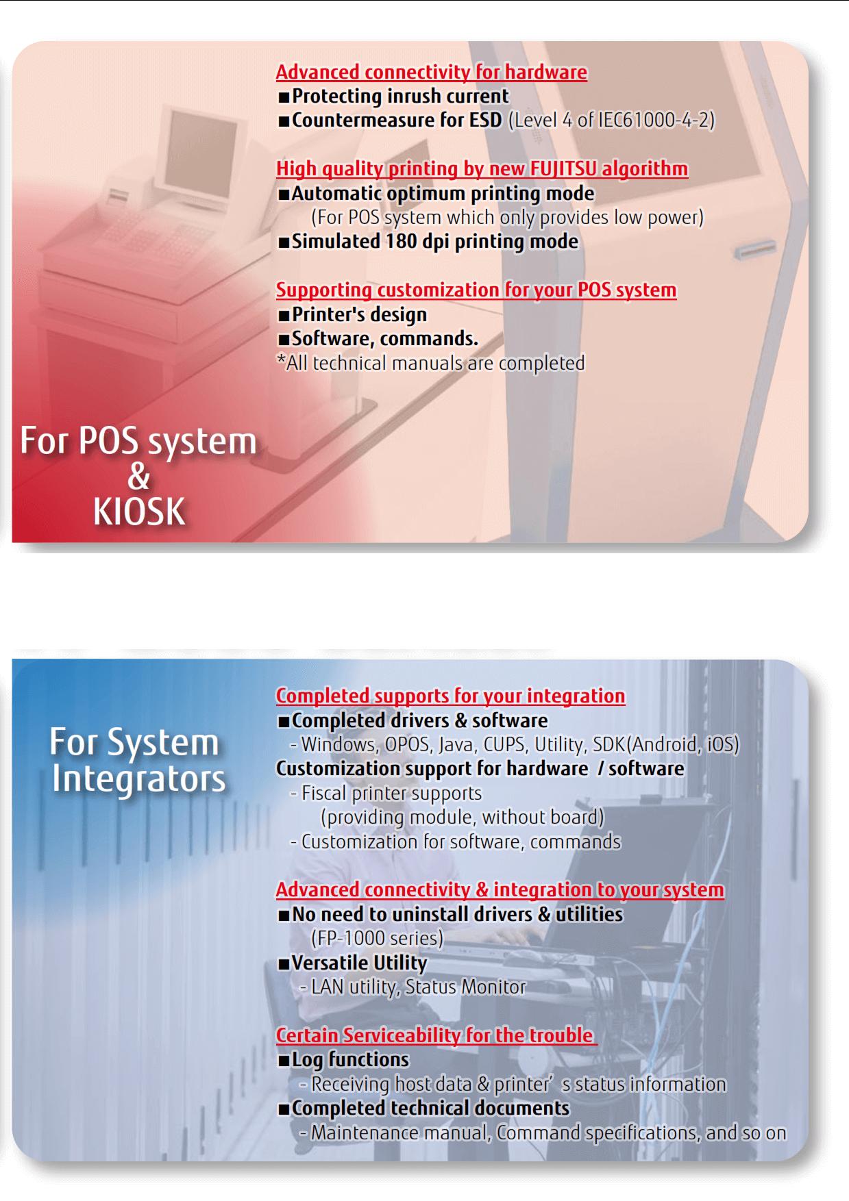 Fujitsu FP-2000 thermal printer series - IQ DistributionsIQ